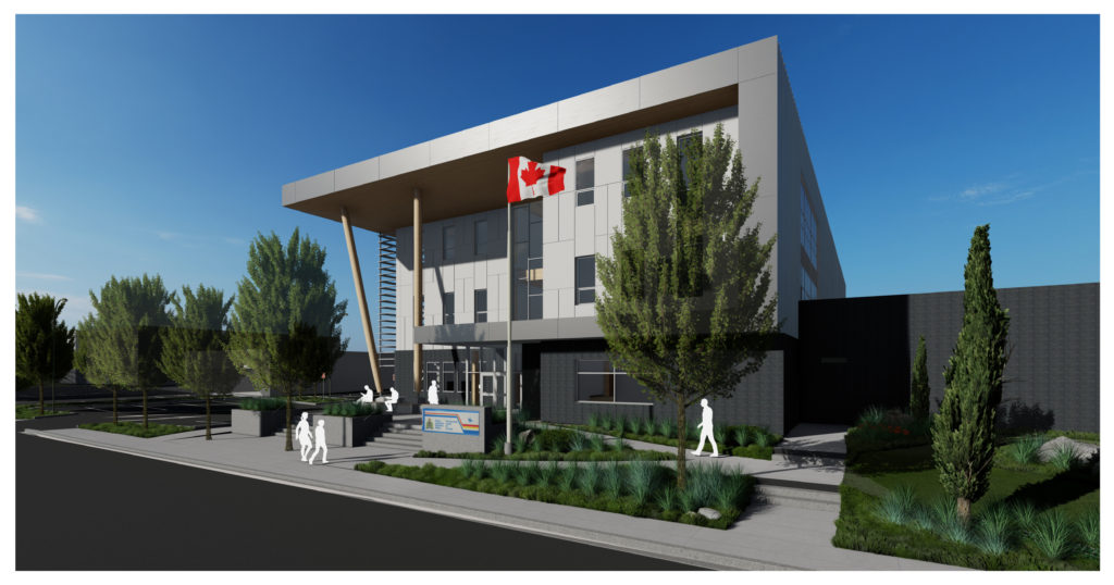 RCMP Detachment Rendering